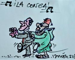 ¡La Conga… de Ceuta a Melilla!La Viñeta de Ramón