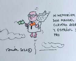 In Memoriam, don Manuel ClaveroLa Viñeta de Ramón
