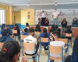 """""""La Bienal va a la escuela"""", promoción del flamenco en los centros educativos de Sevilla"""