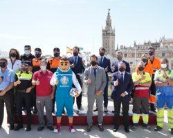 Activado el dispositivo municipal para el primer partido de la EurocopaSe estima un impacto económico de 200 millones de euros