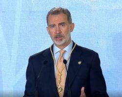 """Felipe VI recibe la Medalla de Honor de Andalucía""""Recibo esta Medalla como un abrazo que representa el sentir de todos los andaluces"""""""