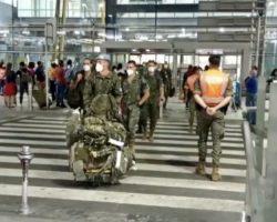Vídeo. Bochornosa ausencia en el regreso de las tropas españolas destinadas en Líbano