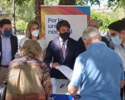Beltrán Pérez hace un llamamiento a los sevillanos para que la sociedad civil frene los indultos del procés