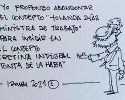 """Propongo abandonar el concepto """"Yolanda Díaz""""La Viñeta de Ramón"""