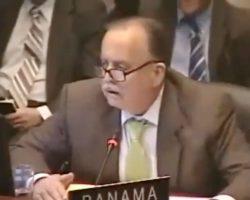 Vídeo. El chiste del embajador panameño sobre el comunismo desató las risas