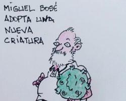 Bosé adopta una nueva criaturaLa Viñeta de Ramón