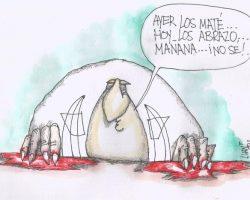 Díaz Canel: Genocida bipolar