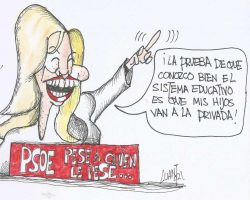 Ministra de educación explica…