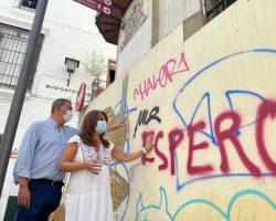 """El PP exige a Espadas un plan de limpieza urgente contra los grafitis y pintadas""""Ha preferido perder el tiempo en aspiraciones personales lejos de la ciudad y condenar a Sevilla al más absoluto de los olvidos"""""""