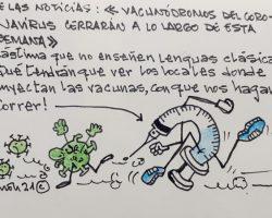 VacunódromosLa Viñeta de Ramón