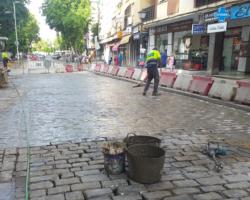 El Ayuntamiento ejecuta 170 actuaciones puntuales de mejora de las calles en agostoRenueva el adoquinado en mal estado de la Alameda, Alfonso XII y San Jacinto