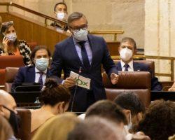 Manuel Gavira advierte a Juan Manuel Moreno que VOX no hablará de Presupuestos si no cumple los acuerdos
