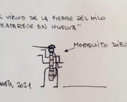 Mosquito difusorLa Viñeta de Ramón