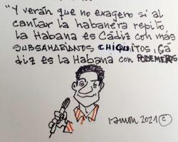 """""""Cádiz es La Habana con podemeros""""La Viñeta de Ramón"""
