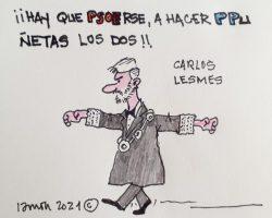 Carlos Lesmes: ¡A hacer PPuñetas los dos!La Viñeta de Ramón