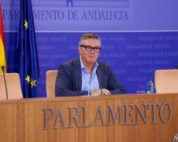 """Manuel Gavira: """"El Gobierno de la Junta de Andalucía no quiere que haya presupuestos"""""""