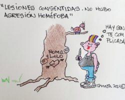 """""""Lesiones consentidas""""La Viñeta de Ramón"""
