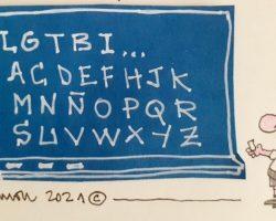 Alfabeto ELEGETEBEITO de IcetaLa Viñeta de Ramón