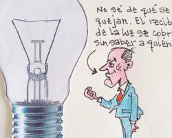 """""""El recibo de la luz se cobra sin saber a quién votan""""La Viñeta de Ramón"""