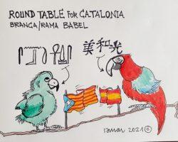 Round table for CataloniaLa Viñeta de Ramón