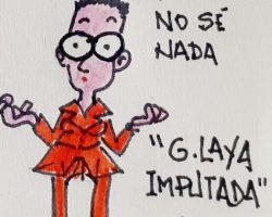 """Laya: """"No sé nada""""La Viñeta de Ramón"""