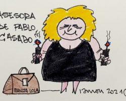 Asesora de Pablo CasadoLa Viñeta de Ramón